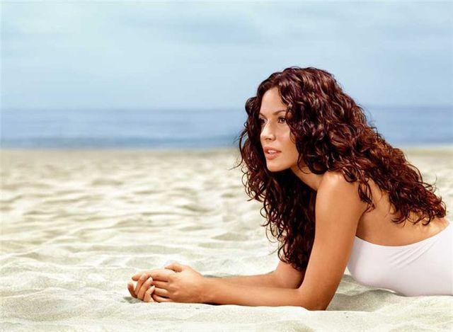 Защита волос в летний период
