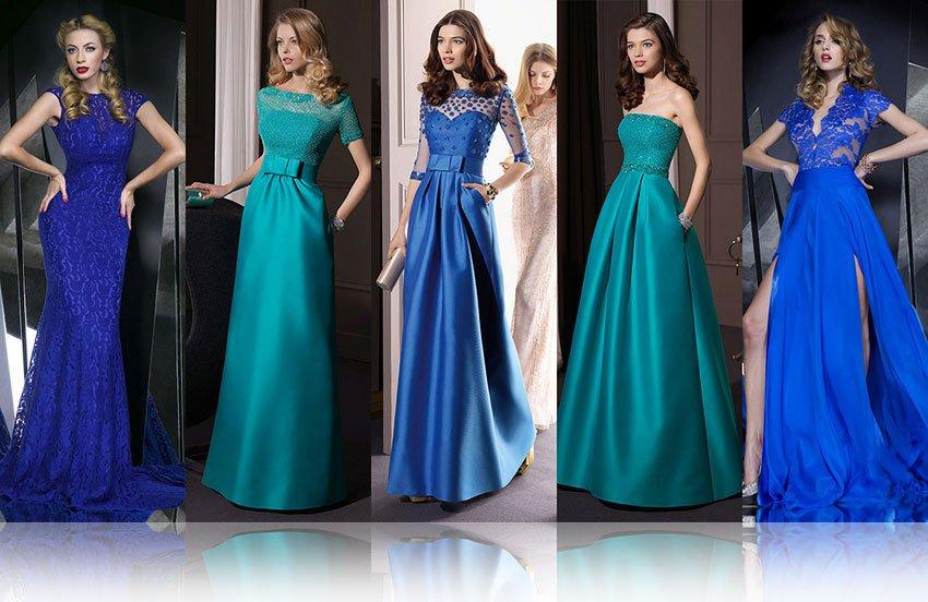 модели платьев в пол