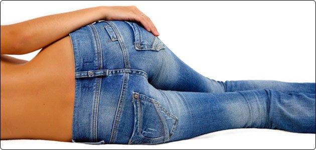 Как ушить джинсы или джинсовую юбку в талии
