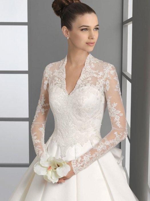 Свадебные платья с закрытой шеей
