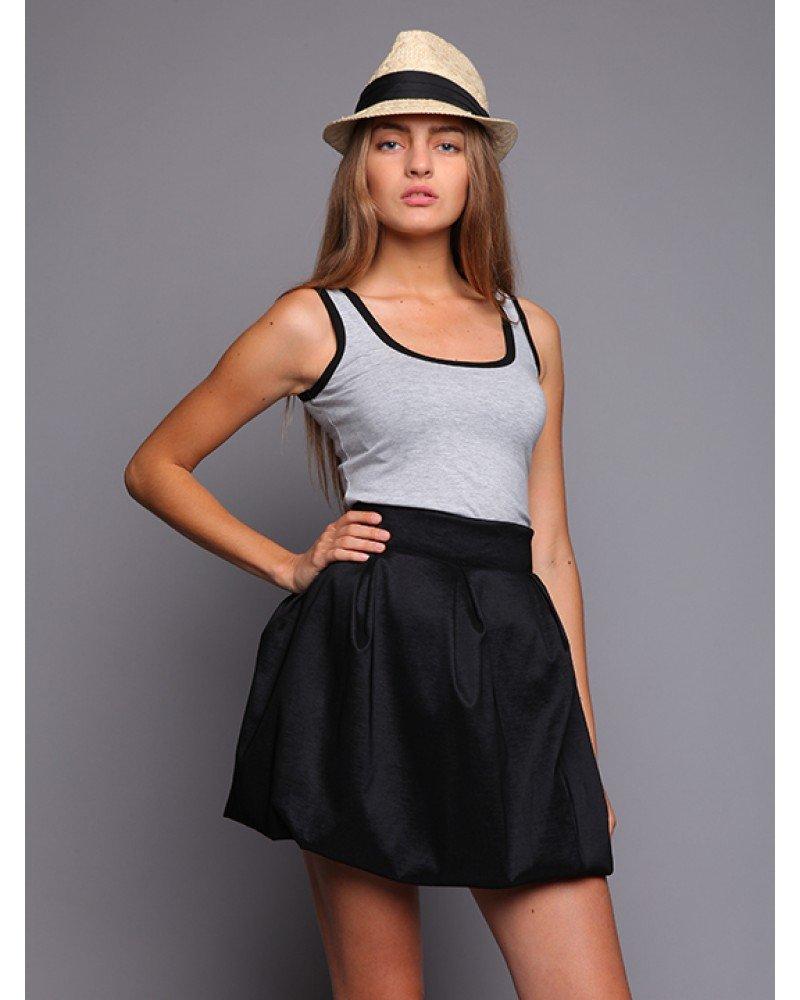 С чем можно носить юбку школьную