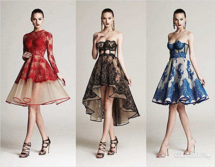 Модели платьев для нового года