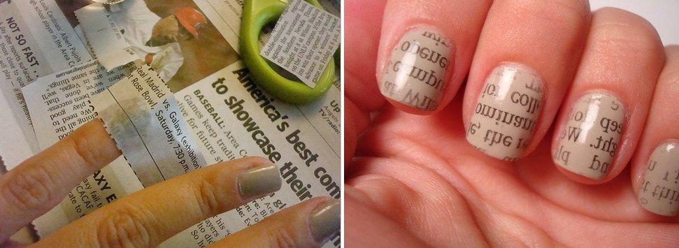 Лёгкие рисунки на ногтях своими руками 4