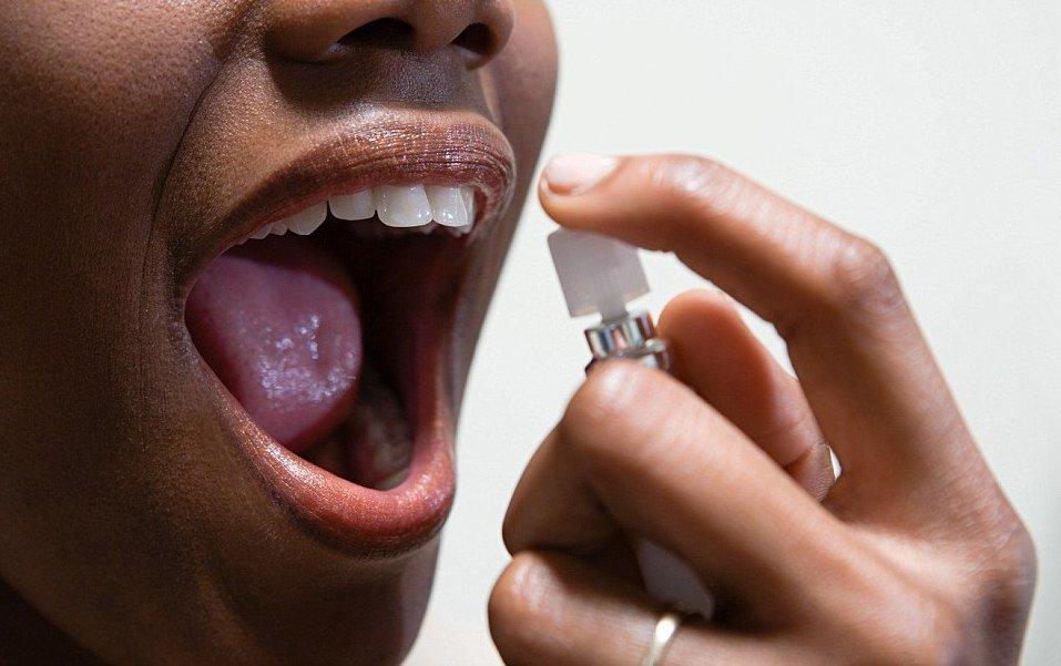 запах изо рта народное лечение