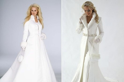 Свадьба зимой – как подобрать наряд?