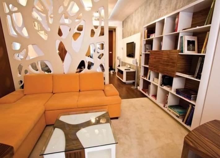 Дизайн комнаты поделенной на зоны