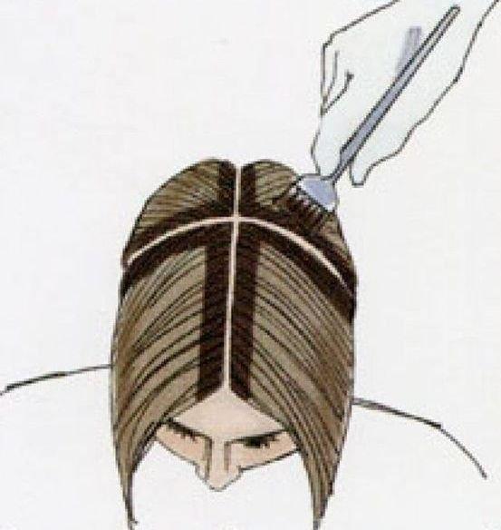 Как правильно самой себе покрасить волосы - TSGbelg20.ru