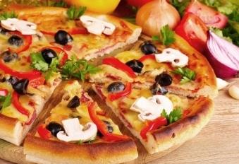 Пицца может быть весьма необычной