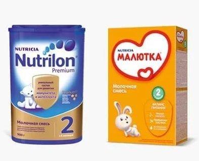 Какое питание для деток лучше: нан или нутрилон