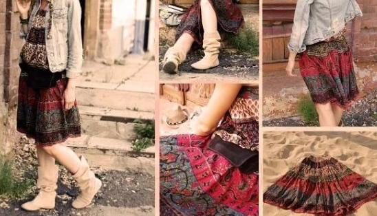 Как одеться правильно в стиле бохо?