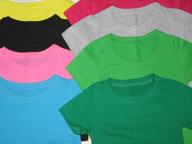 Как выбрать футболку для ребенка?