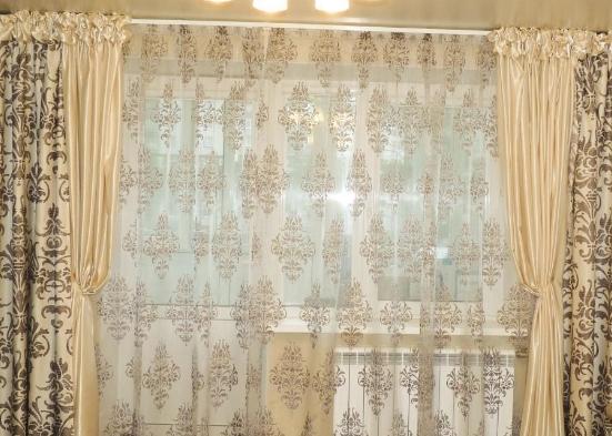 Узоры на купленных готовых шторах расскажут о личности жильца
