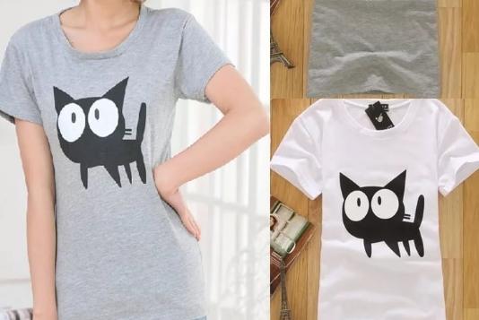 Модные футболки на заказ в женском гардеробе