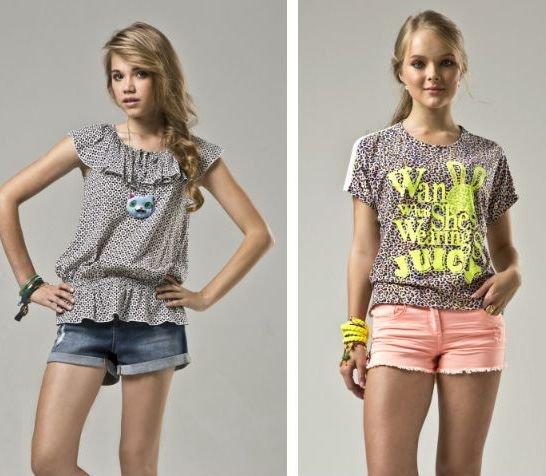 Как одеться девочке в 12 лет