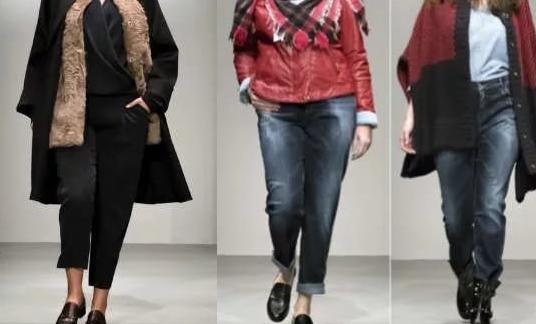 Осенняя мода для полных женщин