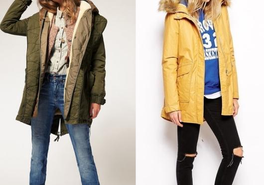 Варианты весенних курток