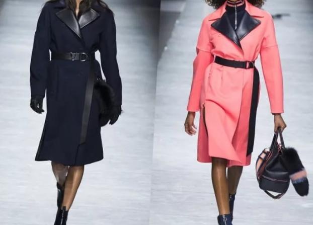Модный тренд – женское твидовое пальто