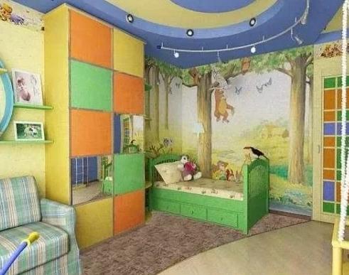 Дизайн оформления детской комнаты для мальчика