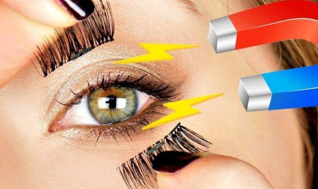 Что такое магнитные накладные ресницы Magnet Lashes