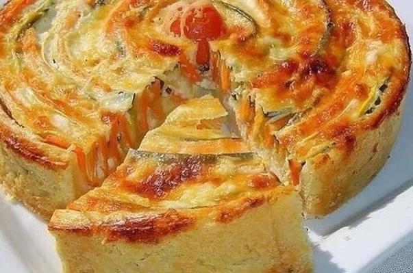 Овощные пироги с необычными ингредиентами