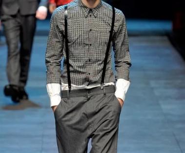 Концептуальная мужская одежда