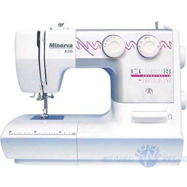 Ассортимент швейных машинок Minerva