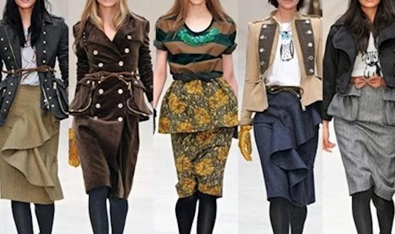 Женская мода - осень