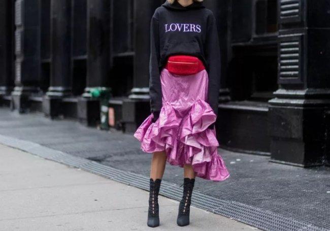 Удивительные сочетания одежды покоряют мир моды