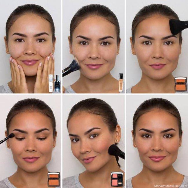 Как правильно наносить косметику?
