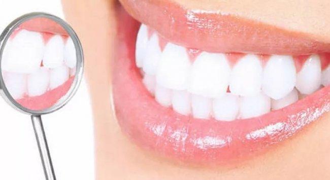 отбеливание зубов улыбка