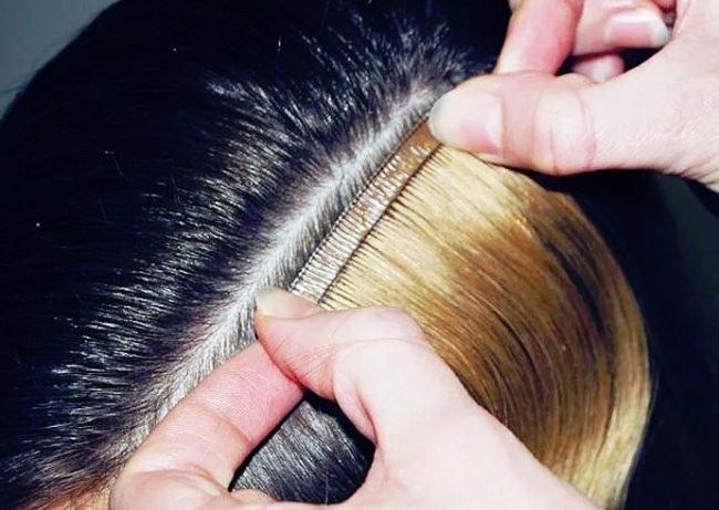Достоинства и технологии наращивания волос