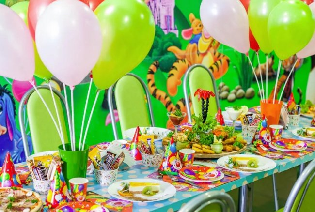 Как организовать развлечения на детском празднике?
