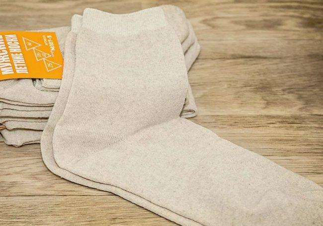 Носки из натуральных материалов