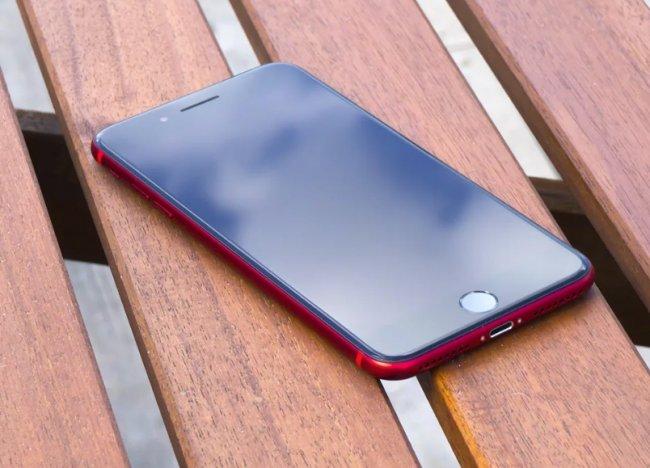 Обзор iPhone 8 Red