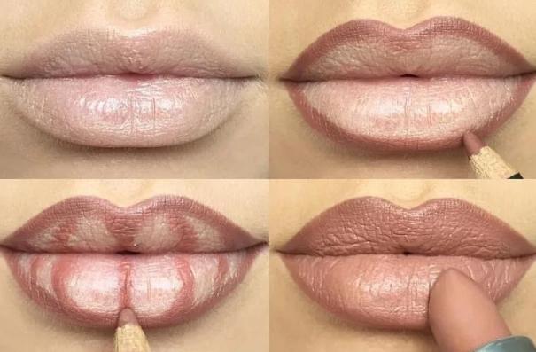 Как правильно накрасить губы