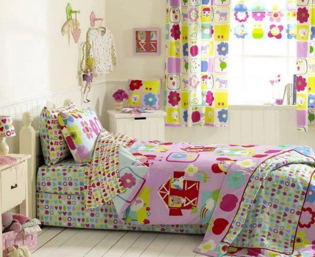 Текстиль в оформлении детской комнаты