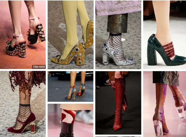 Обувь на каблуке: тренды высокой моды