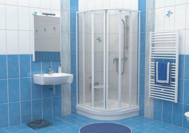 Как совместить ванну с душевой кабиной