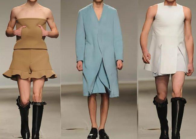 Постепенная феминизация мужской моды