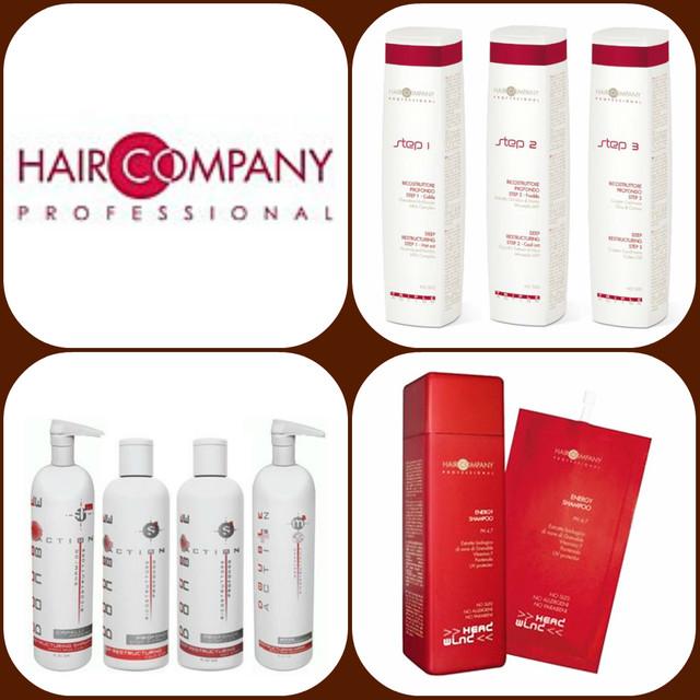 Профессиональная косметика для волос от компании HairLine Professional