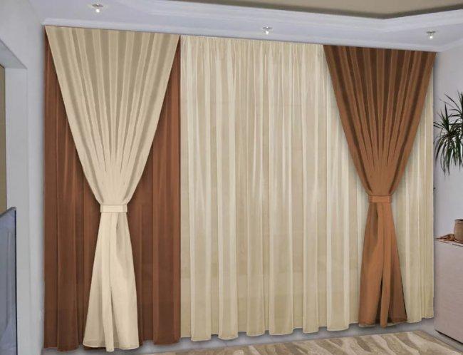Какие шторы выбрать для гостиной